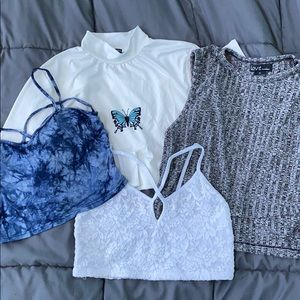 Crop Top Summer Bundle☀️💕